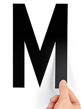 """8"""" Single Letter Die-Cut Labels - """"M"""" S-23449-M"""