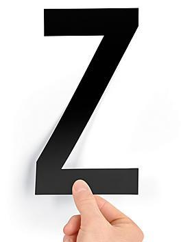 """8"""" Single Letter Die-Cut Labels - """"Z"""" S-23449-Z"""