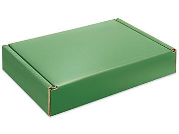 """Colored Mailers - 9 x 6 1/2 x 1 3/4"""", Green S-23463G"""