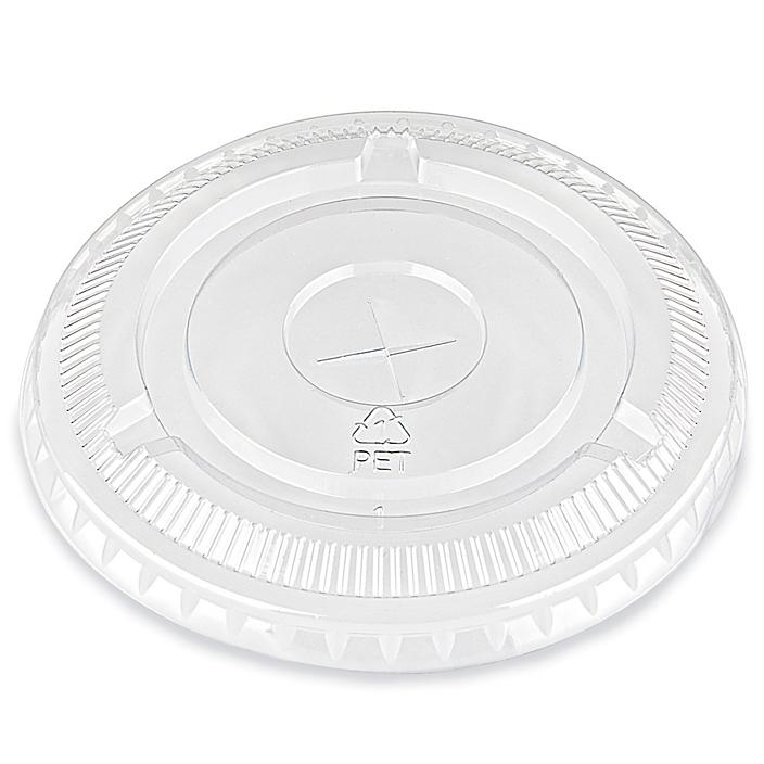 Crystal Clear Plastic Cup Lid - 9 & 12 oz S-23482