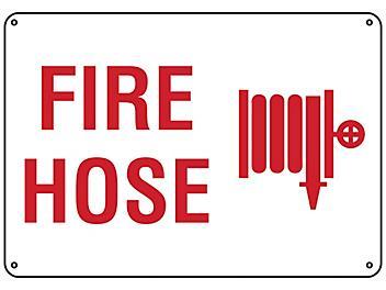 """""""Fire Hose"""" Sign - Plastic S-23491P"""