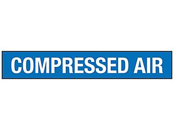 """""""Compressed Air"""" Pipe Markers - 2 1/2 - 7 7/8"""" Pipe Diameter S-23497-2"""