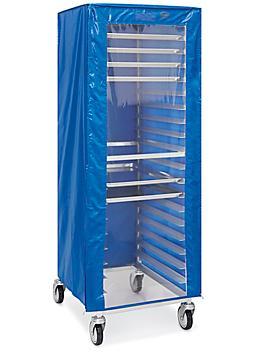 "Mobile Pan Rack Cover - 25 x 28 x 62"", Freezer S-23508"