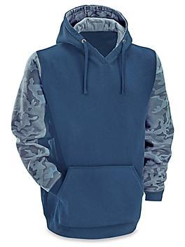 Venado™ Camo Hoodie - Blue, Large S-23523BLU-L