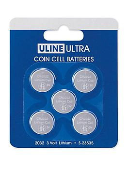 Uline Ultra 2032 Coin Cell Batteries S-23535