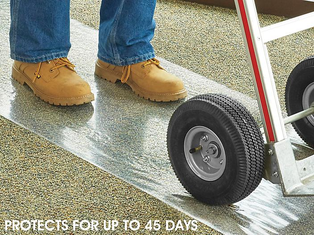 "Uline Carpet Protection Tape - 24"" x 200', 4 Mil S-23540"