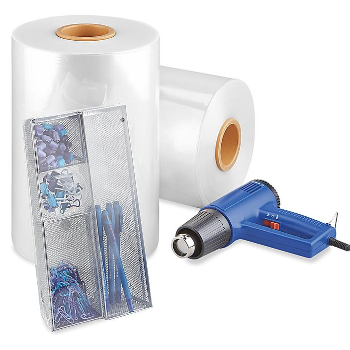 """Cryovac® CT-305 Polyolefin Shrink Film Roll - 70 gauge, 14"""" x 3,750', Pre-perforated S-23569P"""