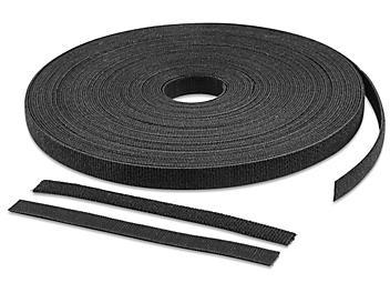 "Velcro® Brand Perforated Straps - 1/2 x 6"", Black S-23591"