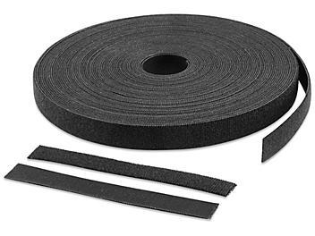 "Velcro® Brand Perforated Straps - 3/4 x 6"", Black S-23592"