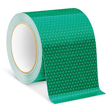 """Outdoor Reflective Tape - 4"""" x 50', Green S-23632G"""