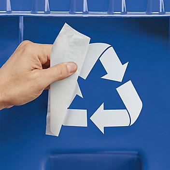 """Recycling Decals - 6"""" S-23704"""