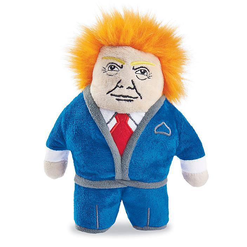 Political Dog Toy - Dognald S-23773