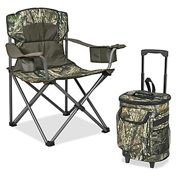 Chair and Cooler Combo - Camo S-23787CAMO