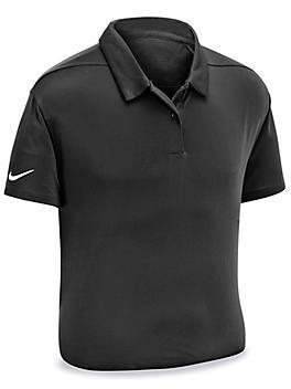 Nike Dri-FIT Polo - Black, Large S-23865BL-L