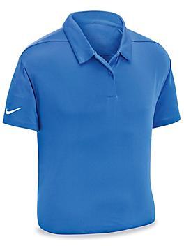 Nike Dri-FIT Polo - Blue, Medium S-23865BLU-M