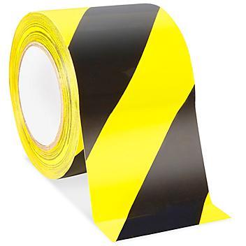 "Uline Heavy Duty Vinyl Safety Tape - 4"" x 36 yds"