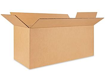 """30 x 12 x 12"""" 275 lb Double Wall Corrugated Boxes S-23964"""