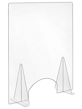 "Counter Safety Shields - 34 x 42 x 12"", Window S-23968"