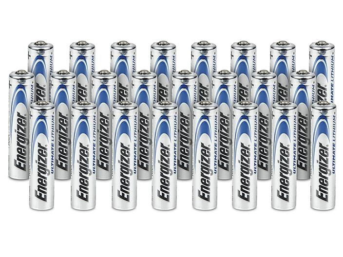 Energizer® AAA Lithium Batteries - 24 pack S-23984