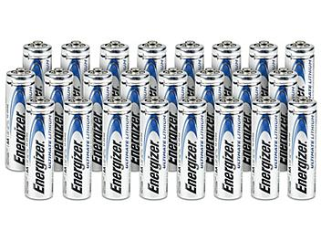 Energizer® AA Lithium Batteries - 24 pack S-23985