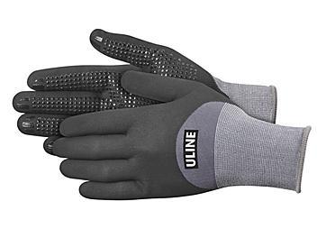 Uline CoolFlex™ Ultra 3/4 Micro-Foam Nitrile Coated Gloves - XL S-23999-X