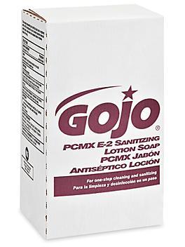 GOJO® E-2 Sanitizing Lotion Soap Refill Box - 2,000 mL S-24055