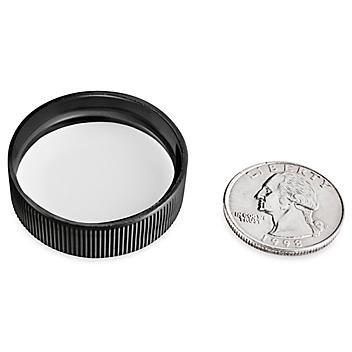 Polypropylene Caps Bulk Pack - 33/400, Black S-24105B