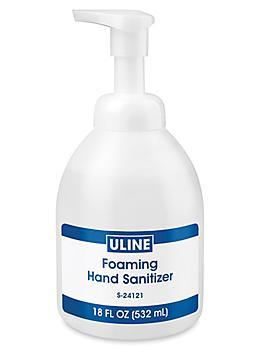 Uline Foaming Hand Sanitizer - 18 oz S-24121