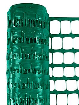 Safety Fence - Standard, 6 x 100', Green S-24123G