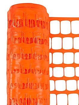 Safety Fence - Standard, 6 x 100', Orange S-24123ORG