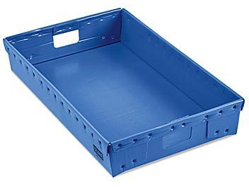 """Uline Conveyor Tray - 31 x 19 x 5"""", Blue S-24135BLU"""