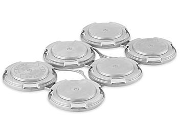 Rigid Can Carrier - 6-Pack, Silver S-24160SIL