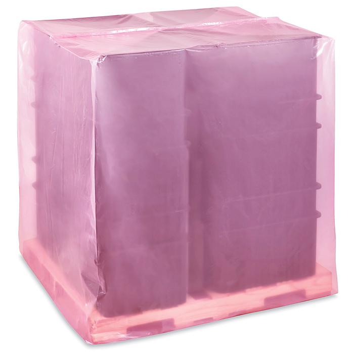 """51 x 49 x 73"""" 2 Mil Anti-Static Pallet Covers S-24186"""