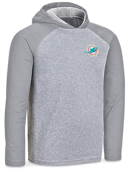 NFL Lightweight Hoodie - Miami Dolphins, 2XL S-24206MIA2X