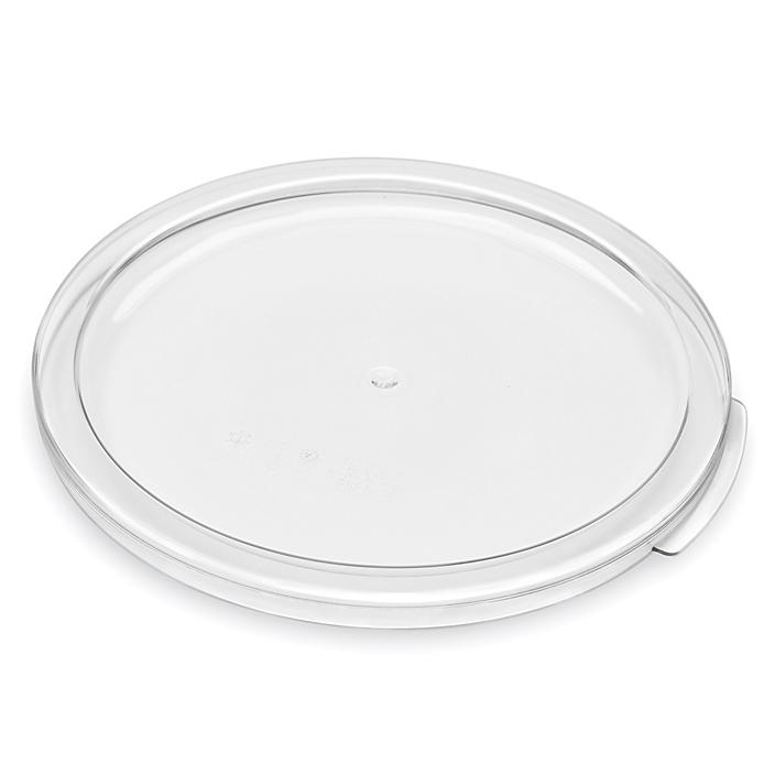 Cambro® Round Food Storage Container Lid - 12 and 22 Quart S-24255