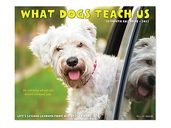 2022 What Dogs Teach Us Calendar S-24279