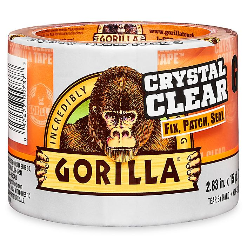 "Gorilla Repair Tape - 3"" x 45', Clear S-24282"