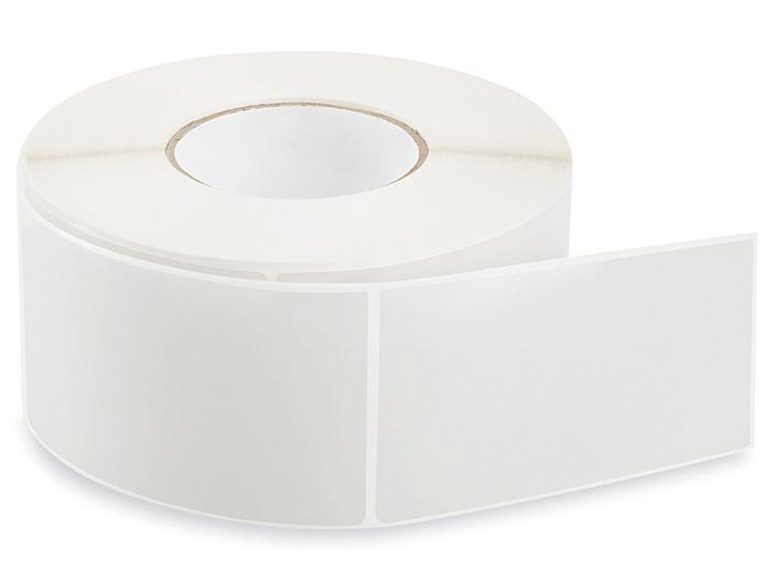 """Removable Adhesive Rectangle Labels - Clear, 3 x 5"""" S-24300C"""