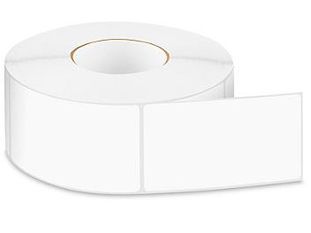 """Removable Adhesive Rectangle Labels - White, 3 x 5"""" S-24300W"""