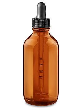 Graduated Glass Dropper Bottles - 4 oz