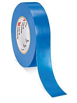 """3M 165 Temflex™ Electrical Tape - 3/4"""" x 60', Blue S-24327BLU"""