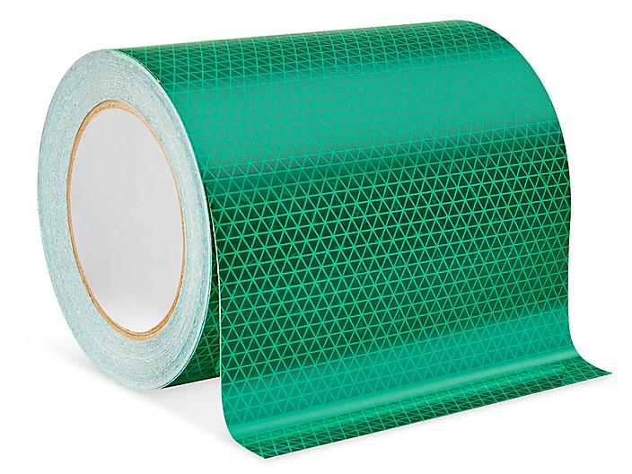 """Outdoor Reflective Tape - 6"""" x 50', Green S-24328G"""