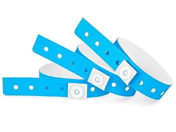 Plastic Wristbands - Blue S-24335BLU