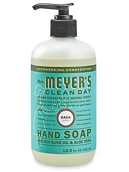 Mrs. Meyer's® Hand Soap - Basil, 12.5 oz Dispenser S-24336BASIL