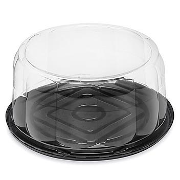 "Plastic Cake Containers - 12"" Round S-24373"