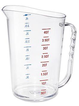 Commercial Measuring Cups - 4 Quart S-24379