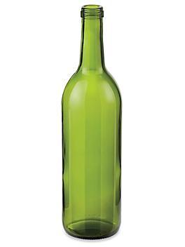 Wine Bottle - 750 mL, Green S-24386G