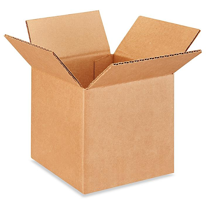 """6 x 6 x 6"""" Corrugated Boxes S-4062"""
