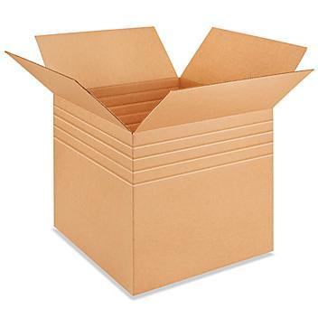 """24 x 24 x 24"""" Multi-Depth Corrugated Boxes S-4115"""