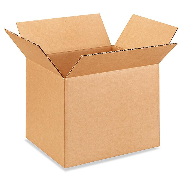 """12 x 10 x 10"""" Corrugated Boxes S-4123"""